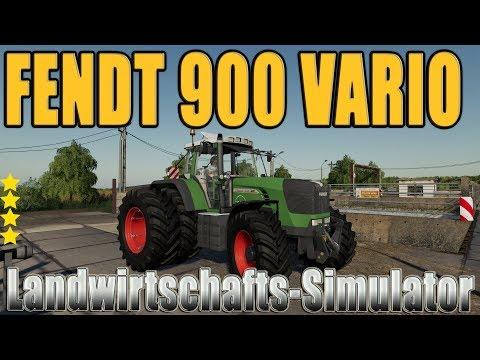 Fendt 900 Vario TMS v2.0