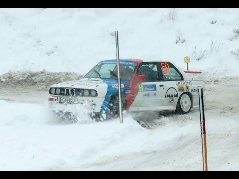 """Niki Glisic - Jänner Rallye 2015 - """"Crash"""" SS4"""