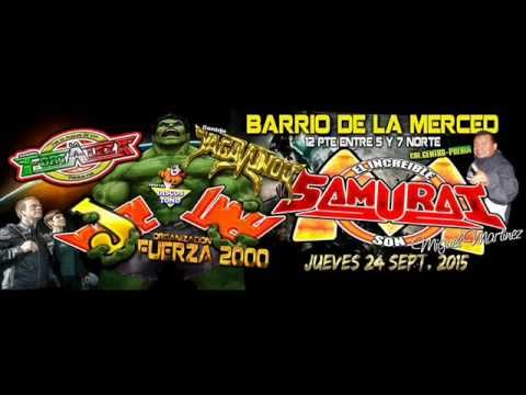 LA CUMBIA DE LA CHIQUILLA-SONIDO SAMURAI-LA MERCED-JUEVES 24 DE SEPTIEMBRE 2015