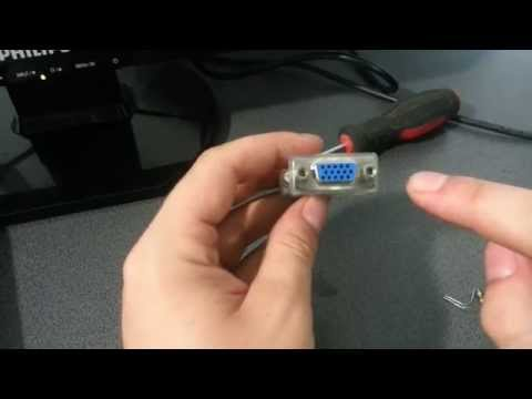 How to make a Dummy VGA Dongle