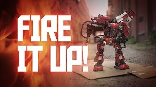 These dance moves are on FIRE! You can break it down and fire it up with Kai's Fire Mech. Cause' you gotta know one to be one. KNOW NINJA. BE NINJA.