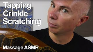 ASMR Day Melody Tapping, Brushing & CrinkleIf you would like to help support you can in a number of ways:Patreon a monthly amount suggested $1 http://www.patreon.com/massageasmrDonation through Paypal: https://www.paypal.com/cgi-bin/webscr?cmd=_s-xclick&hosted_button_id=2GLQ475T9F8GUI am an Amazon Associate, by clicking on links you will go to Amazon's website, if you purchase anything from amazon you will help support me.Dr Dmitri Wears Gunnar Glasses this would be close model http://amzn.to/1GupFHLVideo:Canon C100 MkII http://amzn.to/17PmifTCanon 70D http://amzn.to/1w1cRFiOld Camera Panasonic HMC-152EN http://amzn.to/1qzbzhOCamera LensCanon EF-S 18-135mm STM Lens http://amzn.to/1AFQCAjCanon EF-S 18-55mm 2.8 IS Lens http://amzn.to/1AFQPDxRokinon 35mm 1.5T Cine http://amzn.to/1AFR1CMRokinon 85mm 1.5T Cine http://amzn.to/1AFRaGcAudioMic Preamp - Tascam Uh-7000 - http://amzn.to/VdJFJeOld Recorder: Zoom H4N - http://amzn.to/1kbes5EMicrophones:2 x Rode NTG-3 Microphone - http://amzn.to/1sOGxlL2 x Rode NT1 http://amzn.to/1CtB6hL2 x Rode NT5 http://amzn.to/1AFQfFF  modified with http://www.oktavamodshop.com/product_info.php?products_id=229Microphone Cables - Neutrik Connectors with Mogami Cable - http://amzn.to/1sOIui0Tama Microphone Stands - http://amzn.to/1qzbZEESandisk Extreme Pro 32GB SD Card http://amzn.to/1EisklDTripod:Manfrotto http://amzn.to/1EisEkeManfrotto MVH500AH http://amzn.to/1ELGfBoCorsair K70 with cherry red switches http://amzn.to/1DRHtH2Purchase some of the prints in my videos http://massageasmr.storenvy.com/I am starting to create T-Shirt but my design skill is terrible http://www.districtlines.com/massageasmrASMR stands for Autonomous Sensory Meridian Response it is described as a pleasurable tingling sensation that can be felt most commonly in the back of the scalp and down the spine but not limited to these area's.  I try to describe ASMR experience to people using something common like visiting a hairdresser, do you find the experience of someone fo