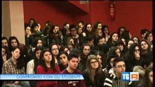 Visita al Liceo Classico Quinto Orazio Flacco di Potenza (Servizio TGR)