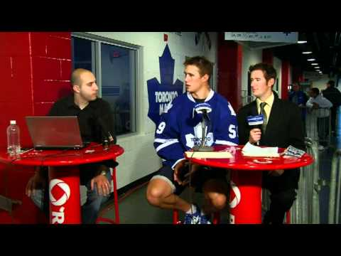Leafs Media Day: Keith Aulie