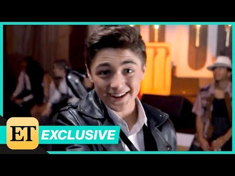 Behind the Scenes of Asher Angel's Chemistry Music Video Shoot! (Exclusive)