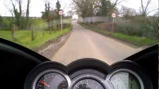 6. A ride on A Triumph Sprint GT 1050