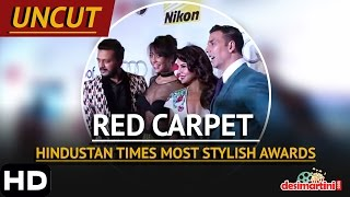 Uncut | Red Carpet | Hindustan Times Most Stylish Awards, Delhi | 2016 | Amitabh | Abhishek | Aishwa