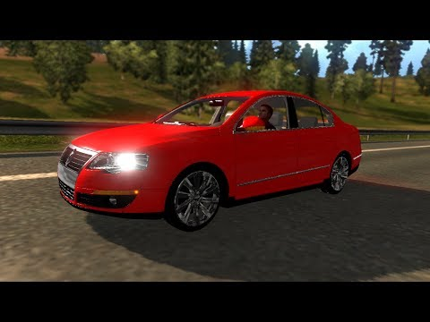Volkswagen Passat B6 + Interior v1.8 (Updated) (1.27.x)