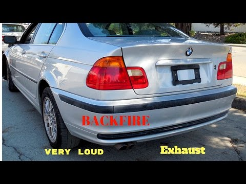 BMW E46 328i Very loud straight pipe!