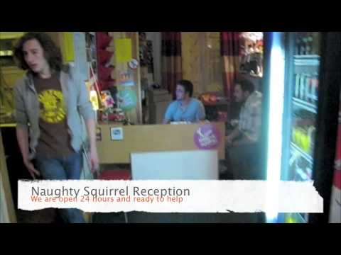 The Naughty Squirrel Backpackers Hostel Videosu