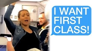Video r/Entitledparents She DEMANDS First Class Seats, Gets Kicked Off the Plane Instead! MP3, 3GP, MP4, WEBM, AVI, FLV September 2019