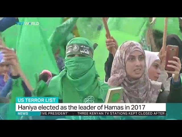 Khalil Jahshan talks to TRT about the US addition of Hamas leader Ismail Haniya to the Terror List.