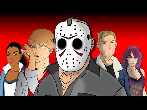 Friday The 13th The Game The Musical - Animated Parody Song