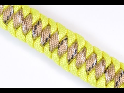 How To Make A Paracord Suvival Bracelet - West Country Whipping Mirrored Design - Boredparacord