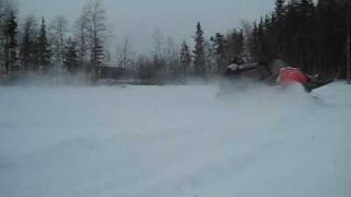 6. Ski-doo freestyle backcountry