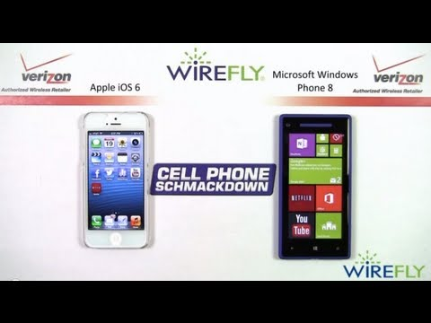 Windows Phone 8 vs Apple iPhone Comparison Review by Wirefly