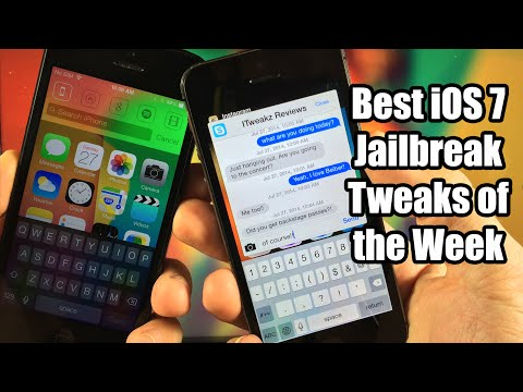 tweaks - Here are the best iOS 7 Jailbreak Tweaks this week! Quite a few good ones! What do you want to see next? ----------------------------------------------------...