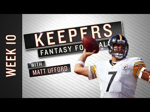 Keepers: Week 10 Fantasy Football Advice