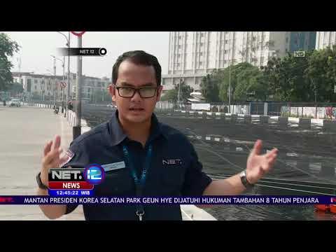 Live Report Pembersihan Kali Sentiong Jelang Asian Games-NET12