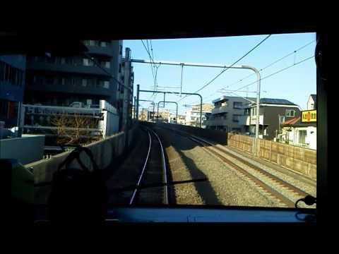1下り前面展望 西武池袋線 快速急行1Cab view Seibu Ikebukuro line for Seibuchichibu (видео)