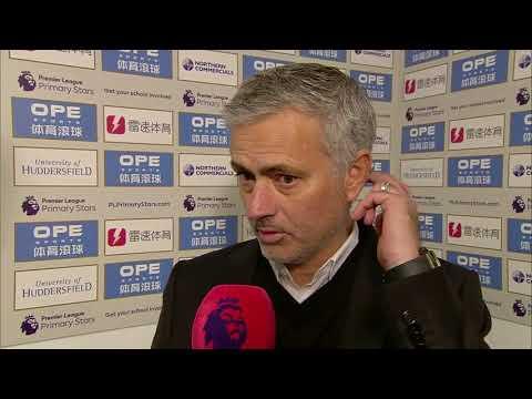 Mourinho on losing to Huddersfield: \