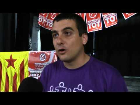 Entrevista a Quim Arrufat (diputat de la CUP al Parlament) i a Jordi Navarro (regidor CUP Girona)