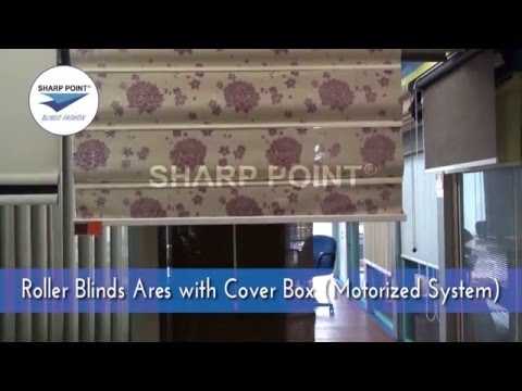 Roller Blinds Ares With Cover Box Motorized System