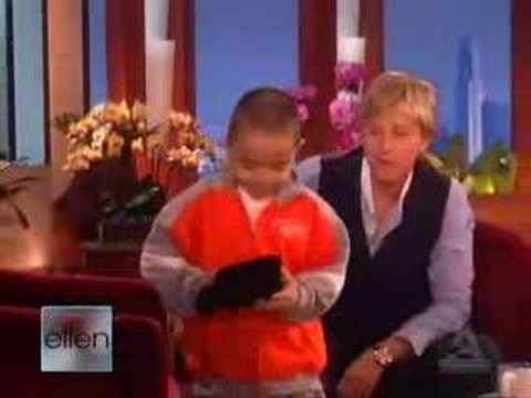 6letý breakdancer u Ellen
