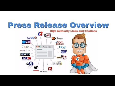 How/Where to get a press release for backlinks and citations