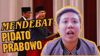 Video MENDEBAT PIDATO KEBANGSAAN PRABOWO ! MP3, 3GP, MP4, WEBM, AVI, FLV Januari 2019