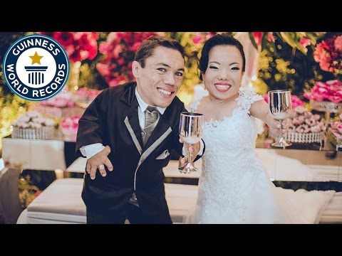 Shortest married couple - Guinness World Records