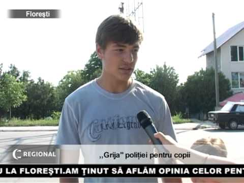 ,,Grija,, poliției pentru copii