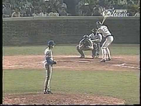 Cubs-Mets, Aug. 9, 1988 (7th inning: Cubs score 4)