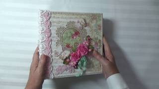 This album was a custom order.Stamperia papers can be purchased at : http://www.whsmarketplace.netMy Blog: http://www.cherylspapercreations.comMy Facebook Page: https://www.facebook.com/cherylspapercreations/ For custom order inquiries , please contact me at capecodcheryl@yahoo.com