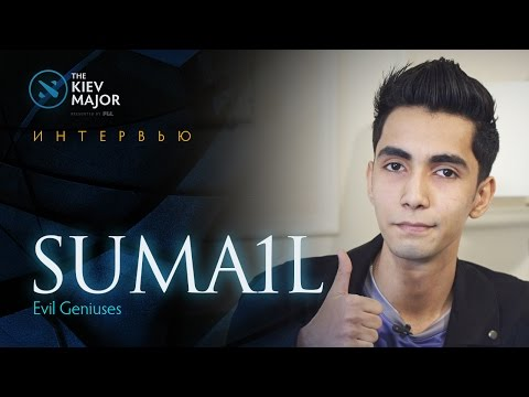 Интервью с EG.SumaiL @ The Kiev Major (видео)