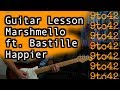Happier Guitar Lesson Tutorial