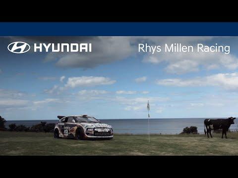 Hyundai  Rhys Millen Plays Speed Golf with Hyundai Veloster