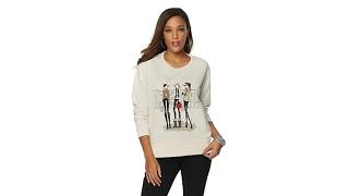 OFF AIR by Giuliana Artist Series Sweatshirt w/Gift Box