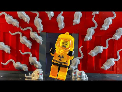Lego Virus Mouse: City Lockdown (Lego Animation)