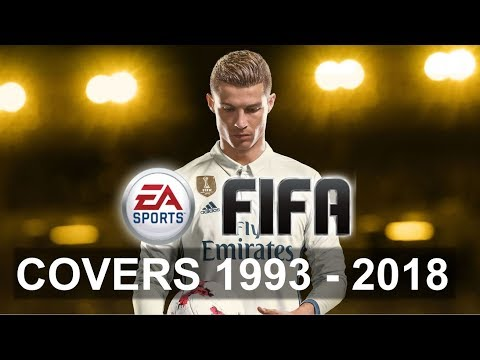 History Of FIFA Covers - 1993 To 2018