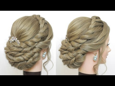 Prom Wedding Updo Tutorial. Hairstyles For Long Hair