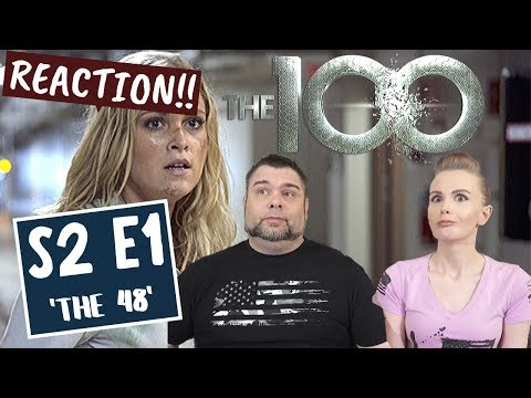 The 100 | S2 E1 'The 48' | Reaction | Review