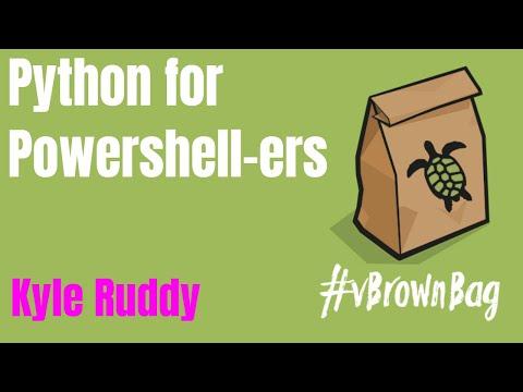vBrownbag - Python for DevOps - Python for PowerShellers