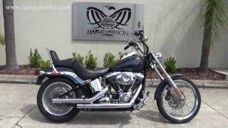 6. 2008 Harley Davidson Softail Standard FXST