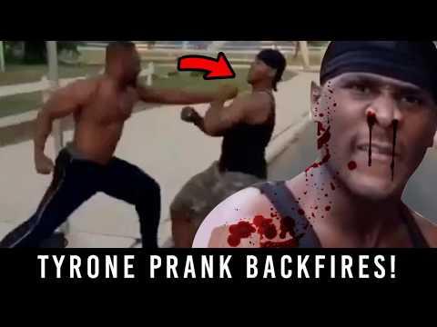 Tyrone Smoking Prank BACKFIRES!! 😂😭