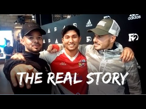 Meeting The F2 Freestylers  │Leaked Video came true!