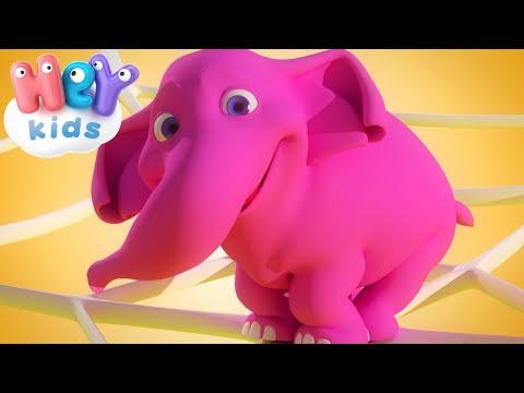 Считалочка про слоников - Развивающие мультики (видео)