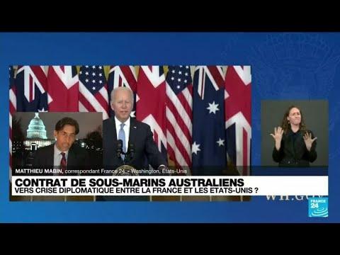 Contrats de sous-marins australiens : vers une crise diplomatique entre la France et les Etats-Unis