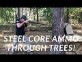Download Lagu Shooting Through Trees with Steel Core Ammo! Mp3 Free