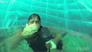 Underwater Bubble Snorkeling - Pretty Dangerous But Awesome To Try This